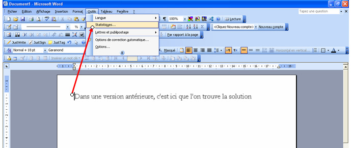 Comment afficher le nombre de signe sur open office - Comment faire un organigramme sur open office ...